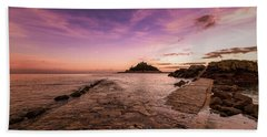 St Michael's Mount - January Beach Sheet