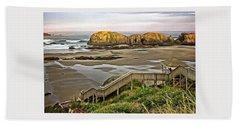 Stairs To The Beach Beach Sheet