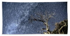Star Trail Wonder Beach Towel