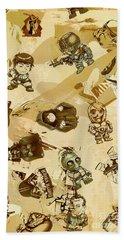 Star Wars Sticker Wall Beach Towel