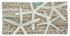 Starfish Love Beach Towel