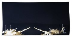 Stars Can Only Shine In Darkness Beach Towel
