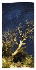 Stars Light Up Arizona Sky Beach Towel