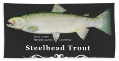 Steelhead Trout Beach Towel