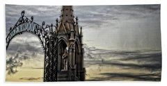 Steeple And Steel Beach Towel