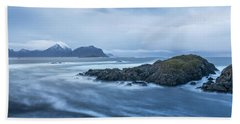 Still Rocks In The Storm Beach Sheet