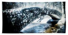 Stone Bridge Michigan Beach Towel