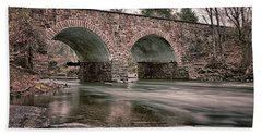 Stone Bridge Beach Towel
