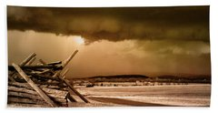 Storm Brewing Beach Towel