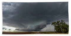 Storm Chasin In Nader Alley 008 Beach Towel