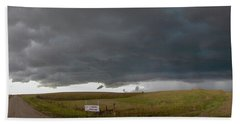 Storm Chasin In Nader Alley 016 Beach Towel