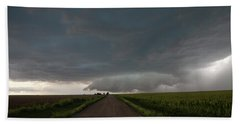 Storm Chasin In Nader Alley 025 Beach Towel