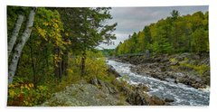 Storm Clouds At Jay Cooke Beach Towel