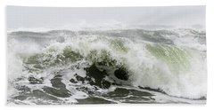 Storm Surf Spray Beach Towel