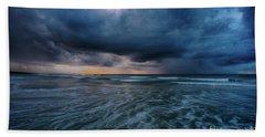 Stormy Morning Beach Sheet