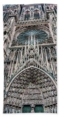 Strasbourg Cathedral Beach Towel