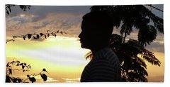 Into The Shadows  Beach Sheet