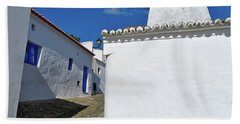 Streets Of A Medieval Castle. Alentejo Beach Sheet