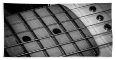 Beach Towel featuring the photograph Strings Series 12 by David Morefield