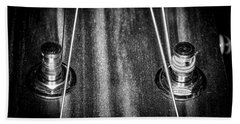 Beach Towel featuring the photograph Strings Series 16 by David Morefield