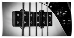 Beach Towel featuring the photograph Strings Series 23 by David Morefield
