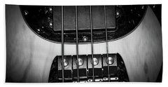 Beach Towel featuring the photograph Strings Series 25 by David Morefield