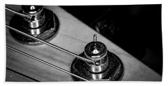 Beach Towel featuring the photograph Strings Series 9 by David Morefield
