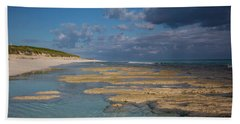 Stromatolites On Stocking Island Beach Towel