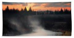 Sturgeon River Morning Beach Sheet