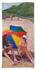 Summer At Jersey Valley Beach Towel
