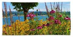 Summer Flowers Vancouver 1 Beach Towel