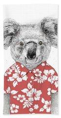 Summer Koala Beach Towel