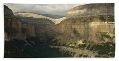 Beach Towel featuring the photograph Summer Magic In The Ordesa Valley by Stephen Taylor