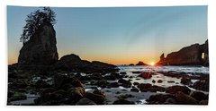 Sunburst At The Beach Beach Sheet