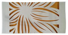 Sunburst Petals Beach Towel