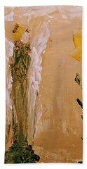Sunflower Angel Beach Towel