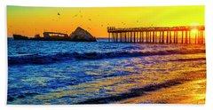 Sunken Ship Seacliffs State Beach Beach Towel