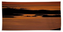 Sunrise Cadillac Mountain Beach Towel