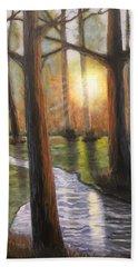 Sunrise Creek II Beach Towel
