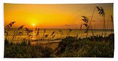 Sunrise On The Dunes  Beach Towel