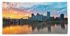 Sunrise Over The North Shore Beach Towel