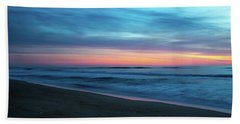 Beach Towel featuring the photograph Sunrise Over The Outer Banks by Lora J Wilson