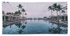 Sunrise Reflections In Paradise Beach Towel