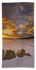 Sunrise Rocks Beach Towel