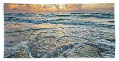 Sunrise Sunbeams Beach Sheet