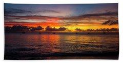 Sunset 4 No Filter Beach Towel