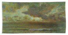 Sunset At Seascale Beach Towel