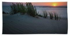 Sunset At The Dunes Beach Towel