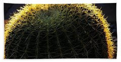 Sunset Cactus Beach Towel