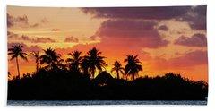 Sunset In The Florida Keys Beach Towel